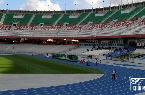Le stade du 5-Juillet-1962 le 7 mars 2020.